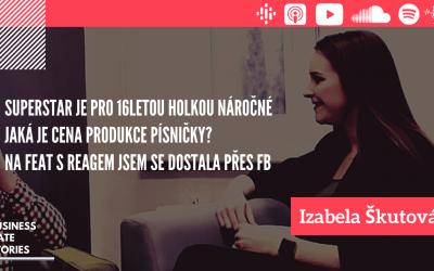 #10 Chcete se živit hudbou? Je potřeba mít rád své fanoušky  – Izabela Škutová