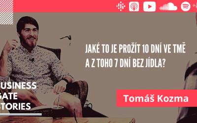 #13 Tomáš Kozma o svém 10-ti denním pobytu ve tmě, z nichž byl 7 bez jídla
