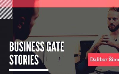 #1 Business Gate Stories: Dalibor Šimek – Podnikavost a přístup k podnikání při studiu.